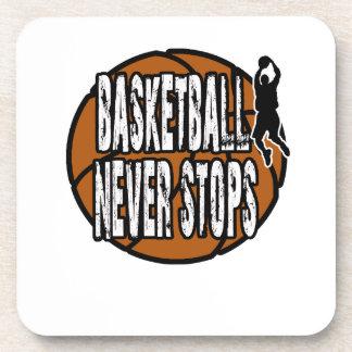 Porta-copo O basquetebol nunca para