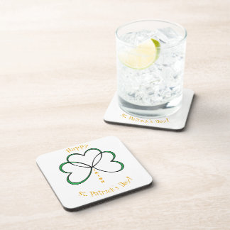 Porta-copo O dia de St Patrick feliz