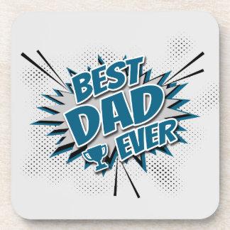 Porta-copo O melhor pai nunca