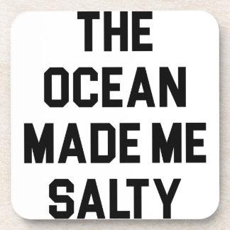 Porta-copo O oceano fez-me salgado