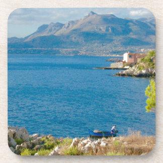 Porta-copo O pescador siciliano