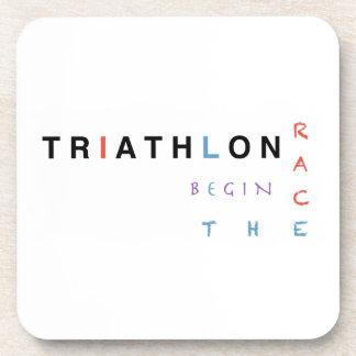 Porta-copo O Triathlon deixou a raça começar