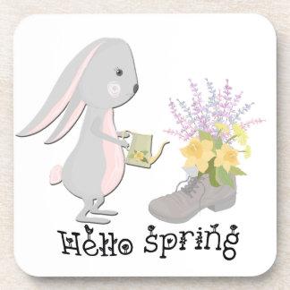 Porta-copo olá! primavera