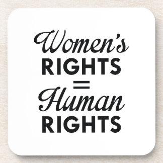 Porta-copo Os direitos das mulheres são direitos humanos