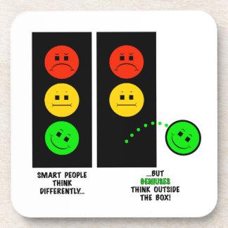 Porta-copo Os gênios temperamentais do sinal de trânsito