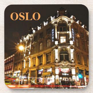 Porta-copo Oslo, Noruega na noite