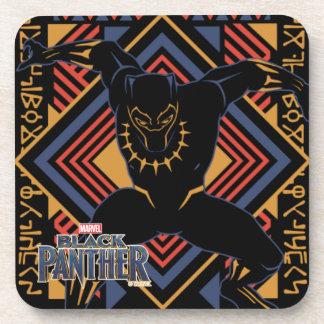 Porta-copo Painel da pantera preta de pantera preta |