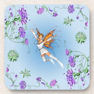 Porta-copo País das fadas da borboleta
