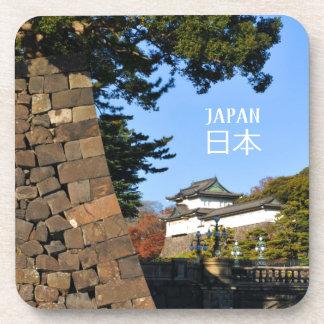 Porta-copo Palácio imperial em Tokyo, Japão