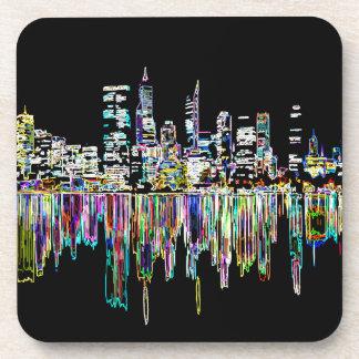 Porta-copo Panorama da cidade