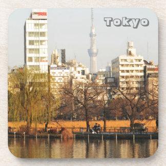 Porta-copo Parque de Ueno em Tokyo, Japão