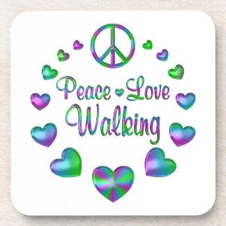 Porta-copo Passeio do amor da paz