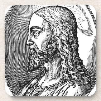 Porta-copo Perfil do Jesus Cristo