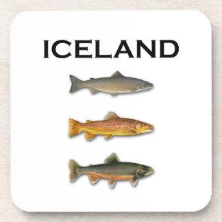 Porta-copo Pesca de água doce de Islândia