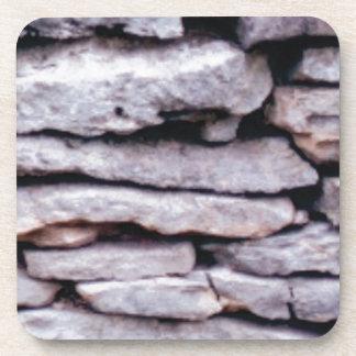 Porta-copo pilha da rocha formada