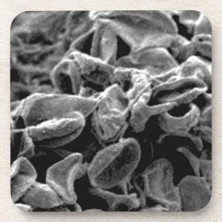 Porta-copo pilhas ou bactérias pretas