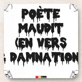 Porta-copo Poeta maldiz (em PARA E DAMNATION) - Jogos de