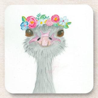 Porta-copo Portas copos da avestruz do primeiro de Maio