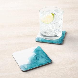 Porta-copo Portas copos da pintura do Watercolour do azul de