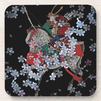 Porta-copo Portas copos do samurai com parte traseira da