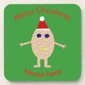 Porta-copo Portas copos engraçadas do costume do ovo do Natal