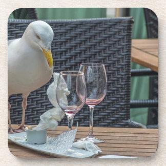 Porta-copo Portas copos plásticas duras da gaivota e dos