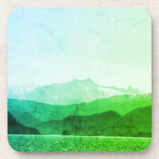 Porta-copo Portas copos verdes das montanhas