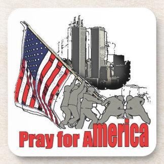 Porta-copo Pray para América