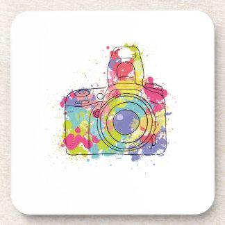 Porta-copo Presente colorido da fotografia do fotógrafo