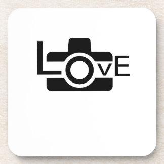 Porta-copo Presente da fotografia do amor do fotógrafo