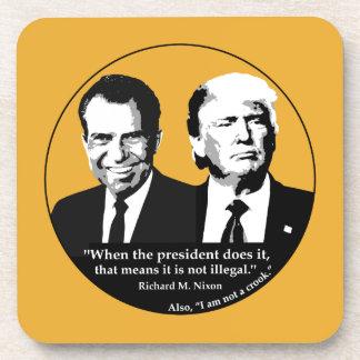 Porta-copo Presidente nao ilegal