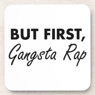Porta-copo Primeiro rap de Gangsta