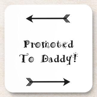 Porta-copo Promovido ao pai - adoptivo adote - novo papai
