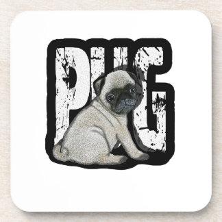 Porta-copo Pug