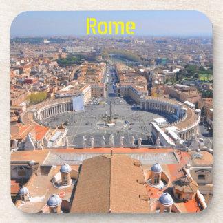 Porta-copo Quadrado de St Peter no vaticano, Roma, Italia