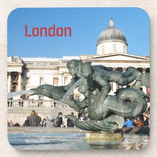 Porta-copo Quadrado de Trafalgar em Londres, Reino Unido