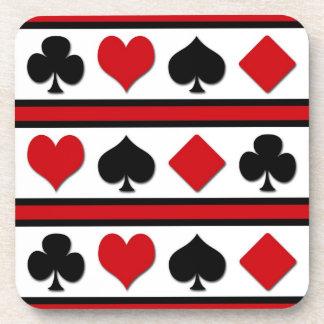 Porta-copo Quatro ternos do cartão