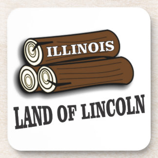 Porta-copo Registros de Illinois de Lincoln