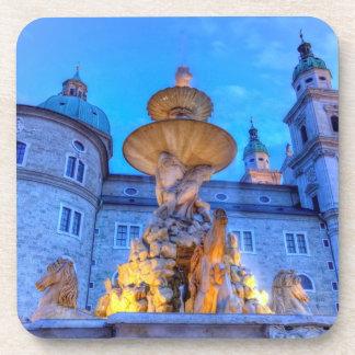 Porta-copo Residenzplatz em Salzburg, Áustria