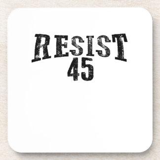 Porta-copo Resista um protesto de 45 trunfos