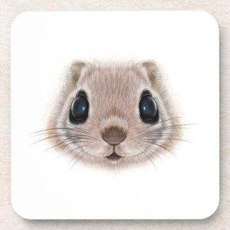 Porta-copo Retrato ilustrado do esquilo de vôo