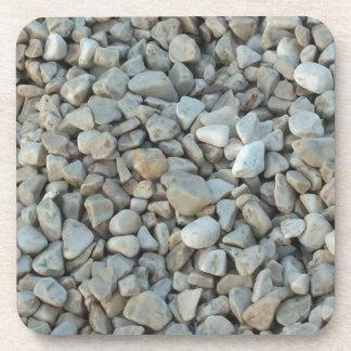 Porta-copo Seixos na fotografia da pedra da praia
