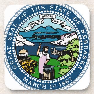 Porta-copo Selo do estado de Nebraska