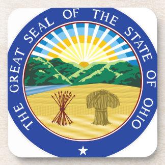 Porta-copo Selo do estado de Ohio