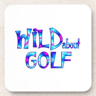 Porta-copo Selvagem sobre o golfe