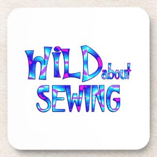 Porta-copo Selvagem sobre Sewing