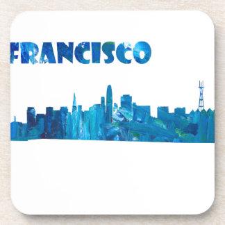Porta-copo Silhueta da skyline de San Francisco