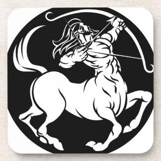 Porta-copo Sinal do zodíaco do Sagitário do centauro