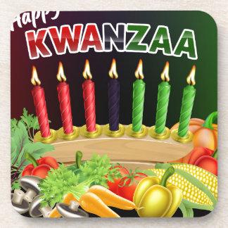 Porta-copo Sinal feliz de Kwanzaa