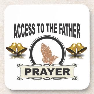 Porta-copo sinos do acesso da oração